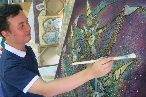 Vo Quang Phat and his experimental arts