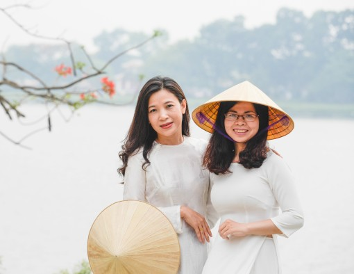 Thanh Tan conical hats