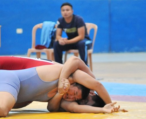 Over 200 wrestlers competes at the National Freestyle and Classical Wrestling Championship in Hue city