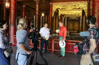 International television makes film promoting the culture and tourism of Thua Thien Hue province