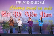 "Liên hoan ""Giọng ca vàng Bolero"""