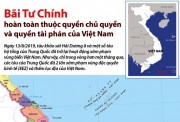 Bãi Tư Chính hoàn toàn thuộc quyền chủ quyền và quyền tài phán của Việt Nam