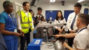 Orbis Flying Eye Hospital conducted ophthalmic training in Hue