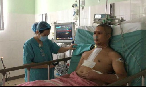 Patient quickly recovered after a speedy heart transplant at Hue Central Hospital