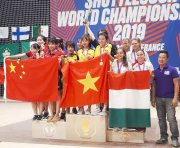 Hue sports won gold medal at shuttlecock world championships for the first time in history