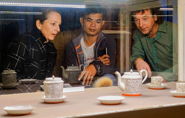 Changing the way to display artifacts at Hue Royal Antiquities Museum