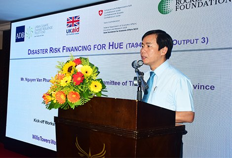 Launching the project Disaster Risk Financing for Hue City