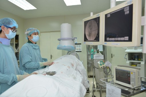 Applying new method of treatment for end-stage heart failure