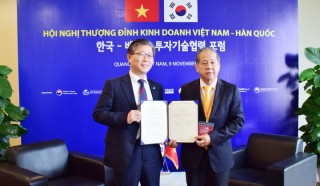 Hue signs a memorandum of understanding with Korea LH Corporation
