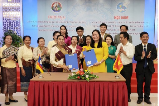 Thua Thien Hue and Salavan (Laos) sign a memorandum of cooperation