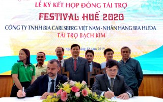 Carlsberg Vietnam is platinum sponsor of Hue Festival 2020