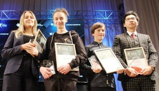 Hue boy wins high prize at an international music competition in Russia
