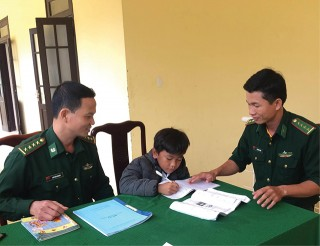 Border guards' adopted children