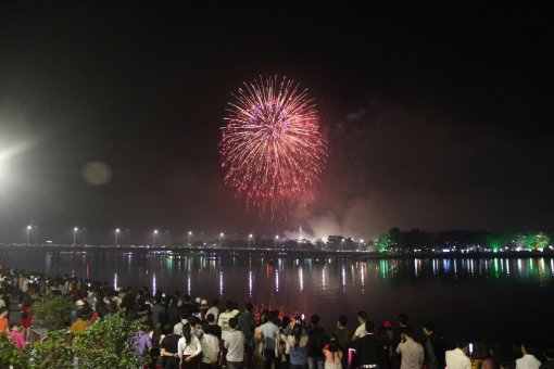Firework performance to take place in Hue city on New Year's Eve