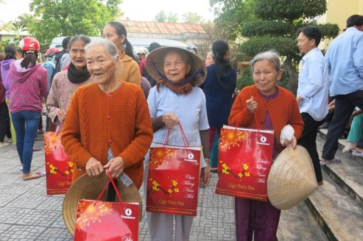More than VND 17 billion to support the policy beneficiaries in Hue on Lunar New Year Holiday