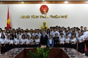 3 students of Hue win First Prize Award of the National Excellent Student Competition