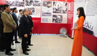 "Exhibition ""90 years under the glorious flag of the Party"" opens"