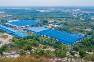 Green spaces, clean factories