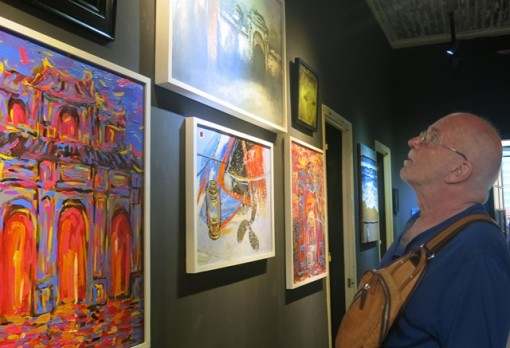 Colorful space of young artists