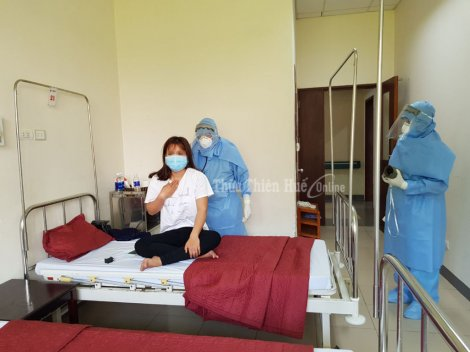 Inside the quarantine and isolation areas of Hue Central Hospital - Branch 2
