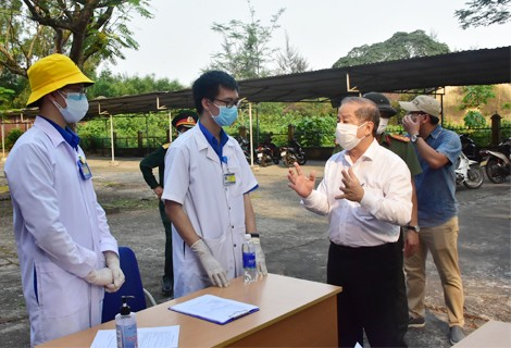 Chairman of the Provincial People's Committee Phan Ngoc Tho sends a letter calling for support of COVID-19 prevention