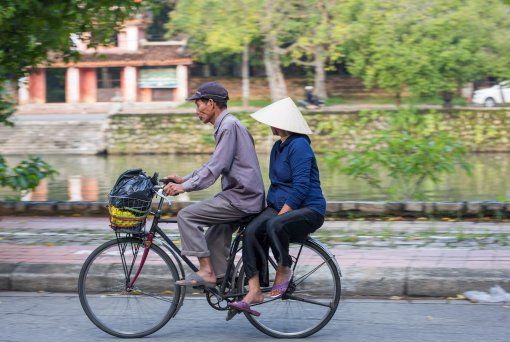 The last generation of bicycle-taxi riders