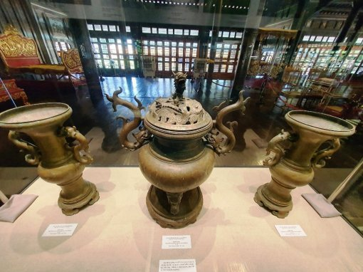 Exhibition of documents and artifacts of Emperor Gia Long