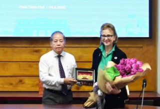 Hue continues to cooperate with UNDP in Vietnam in environmental protection