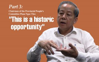 "Relocation of households in Hue Citadel Zone 1: History and Sentiment - part 3:Chairman of the Provincial People's Committee Phan Ngoc Tho: ""This is a historic opportunity"""