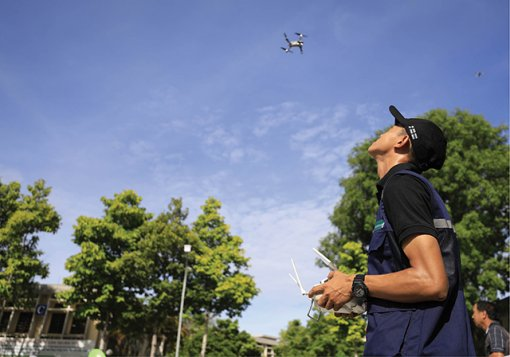 """Thua Thien Hue: Agriculture """"takes off"""" with the drone"""
