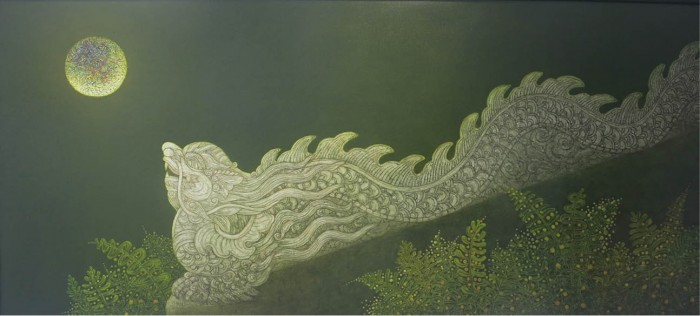 Hue's features in Le Van Nhuong's paintings