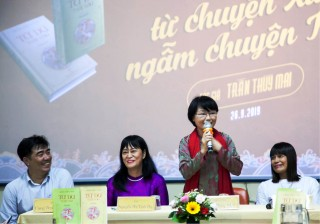 """Tran Thuy Mai: """"One will meet the reader if one reaches the end of his passion."""""""