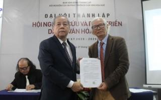 Hue Cultural Heritage Research and Development Association established