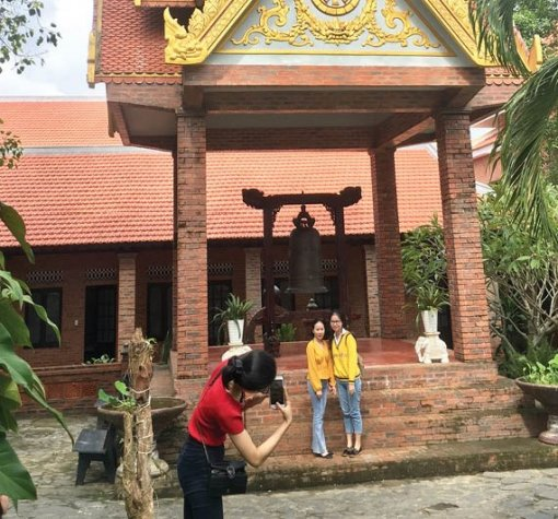 """The Golden Pagoda"" in the heart of Hue Ancient Capital"