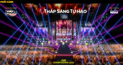 Hue - Countdown 2021 to take place in the area of ​​Hung Vuong intersection