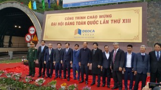 The Hai Van 2 road tunnel inaugurated