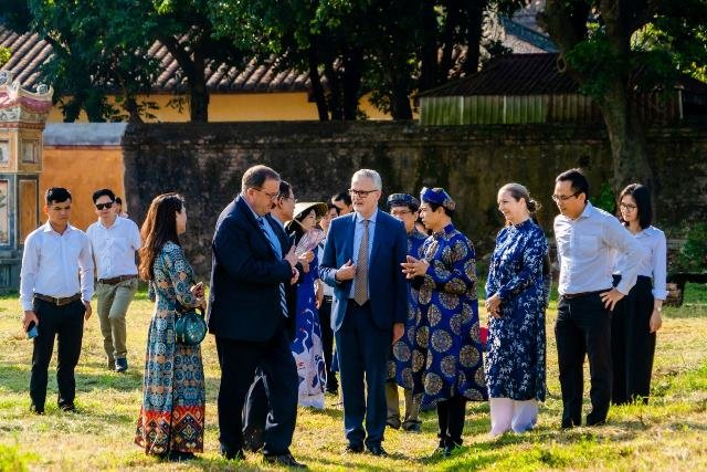 The Federal Republic of Germany continues to support the restoration of Hue heritage