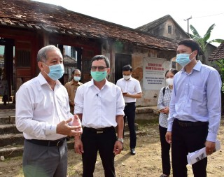 Fund allocation for the restoration of Ung Binh relic at Chau Huong Vien