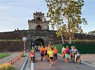 The first Hue person to conquer 100-km distance