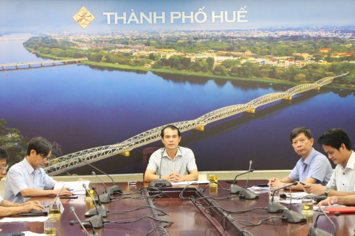 """Online meeting on implementation of """"Hue culture and tourism smart city development"""" project held"""