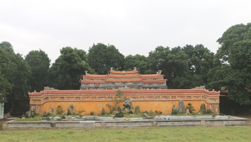 The Federal Republic of Germany continues to support the conservation and restoration of Phung Tien Palace
