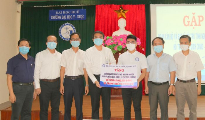 The No. 4 volunteer medical delegation established to support HCMC in the fight against the pandemic