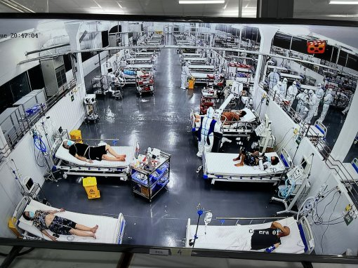 Hue Central Hospital's Center for Intensive Care of COVID-19 in Ho Chi Minh City receiving patients