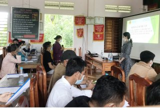 Skill training for community tourism labor in Phong Dien district