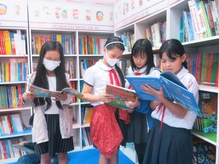 Children's reading space opened at the Provincial General Library