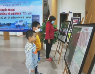 """Exhibition """"The Legend of Ho Chi Minh Trail at Sea and Vietnam's Maritime Sovereignty"""""""
